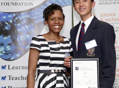 Edbook | Gauteng learner best Junior of SA Maths Olympiad